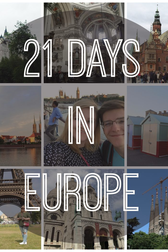 21 Days in Europe