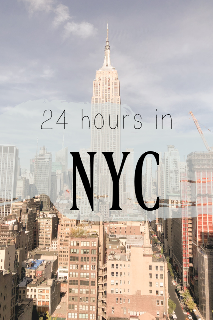 24 Hours in NYC