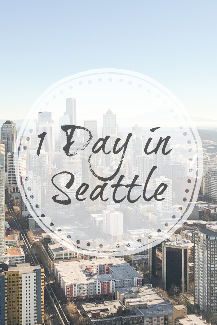 1 Day in Seattle
