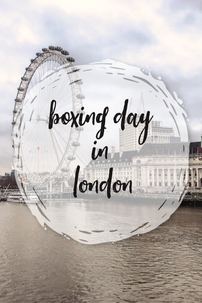 Boxing Day in London